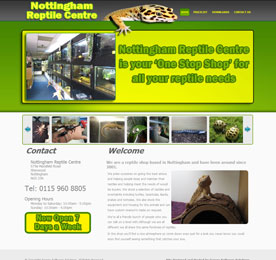 Nottingham Reptile Centre